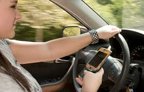 Texting and Driving continues to be a problem