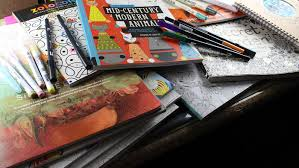 Adult coloring books becoming a new trend?