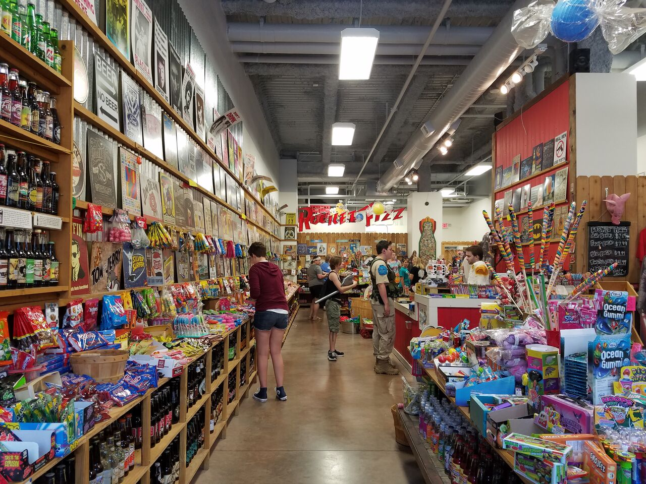 Rocket Fizz Soda Pop and Candy Store
