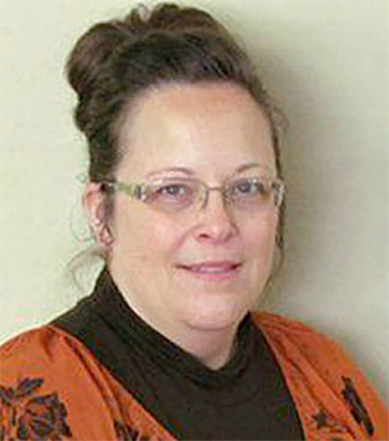 Kentucky Clerk In Custody for Refusing Marriage Licenses to Same-Sex Couples.