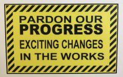 Navigation to Story: Pardon our Progress